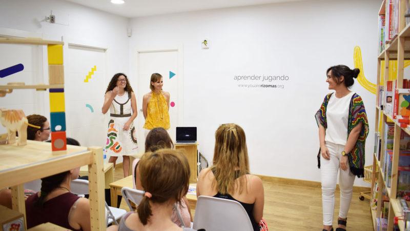 Presentación Rizomas EDU · Charla Montessori : Una educación de futuro