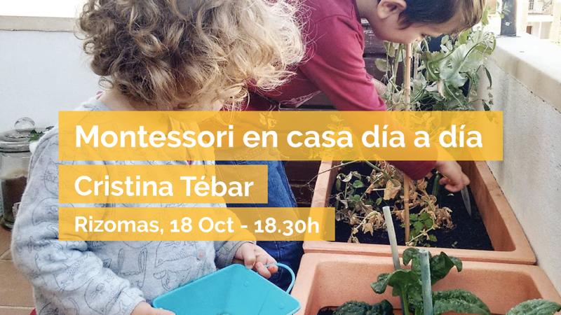 Montessori en casa día a día – Cristina Tébar