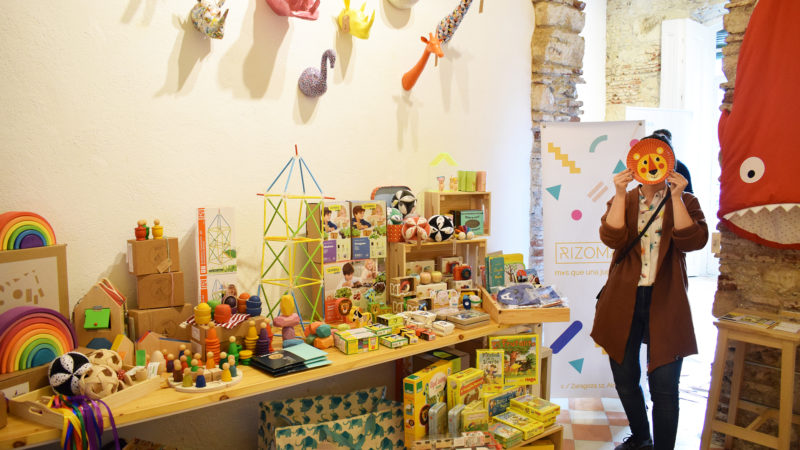 Rizomas en POP-UP Market Kids Almería